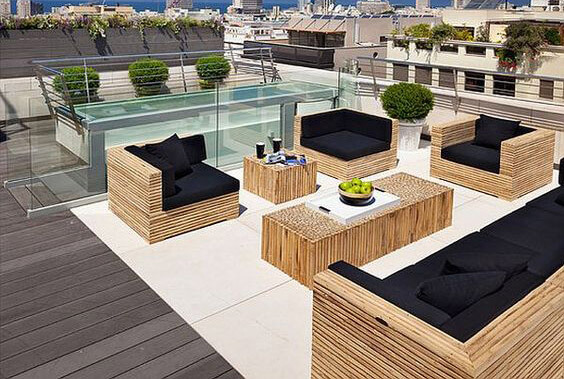 terrasse sur toit gm84 jornalagora. Black Bedroom Furniture Sets. Home Design Ideas